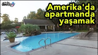 Amerika'da apartmanda yaşamak - Amerika Vlog #20
