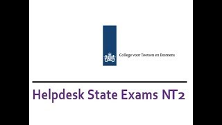 Get more info about the Diploma State Exams Nt2 at the Expat Fair Eindhoven!