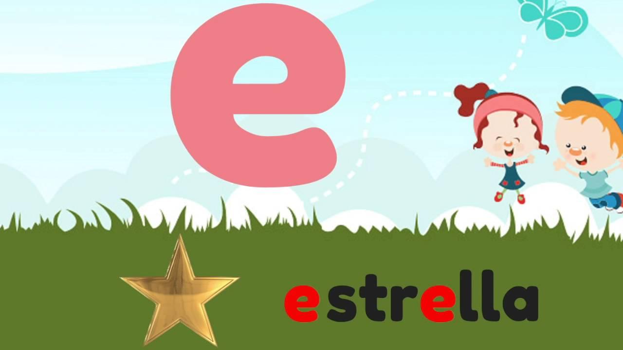 """Vocal """"E"""" - Escuela en casa para niños - YouTube"""