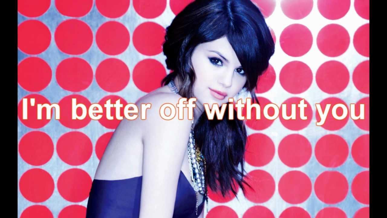 Selena Gomez The Scene I Dont Miss You At All Lyrics Youtube