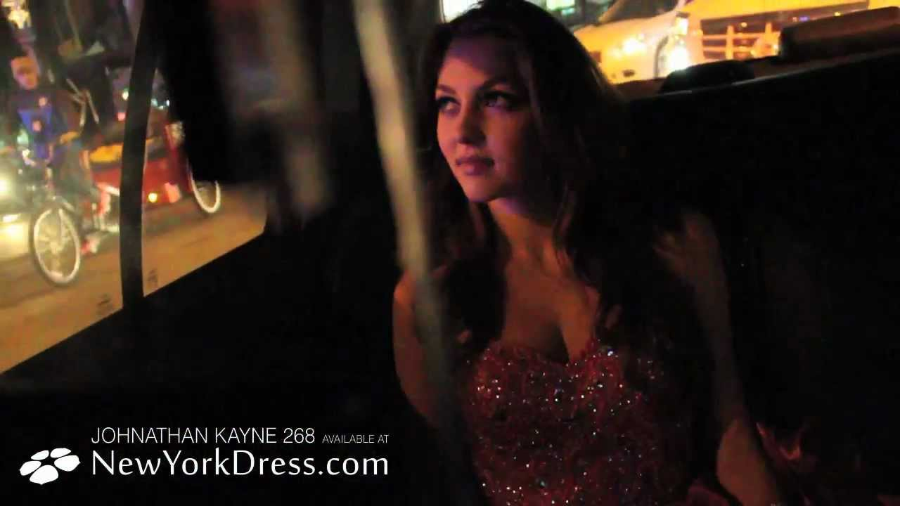 Electric Prom Dress That Lights Up by Johnathan Kayne - YouTube