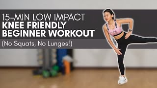 Low Impact Knee Friendly Beginner Workout (No Squats, No Lunges!) | Joanna Soh
