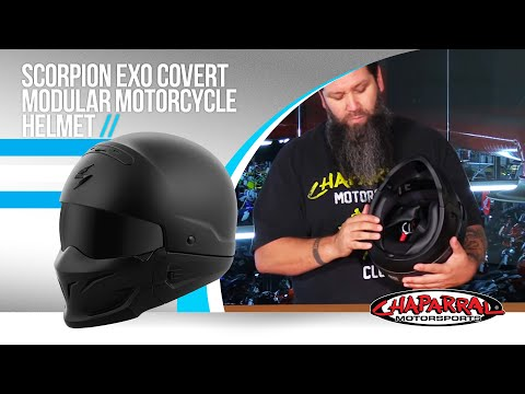 Scorpion EXO Covert Modular Motorcycle Helmet Review Special Ops Outlaw Bandit