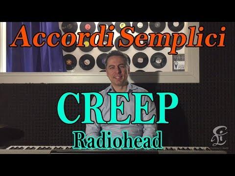 #6 CREEP (Radiohead) - Tutorial Pianoforte - Accordi facili da imparare
