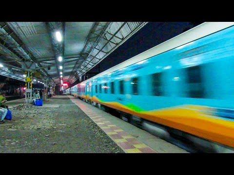Inaugural Run of Sri Ganganagar - Tiruchchirappalli Humsafar Express via Mumbai