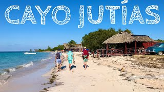 THE BEST BEACH IN CUBA?!?! | 2020 CAYO JUTIAS