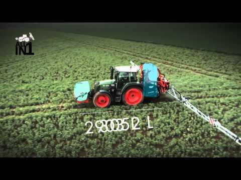 KUHN ALTIS 2 + PF - Spraying (In action)