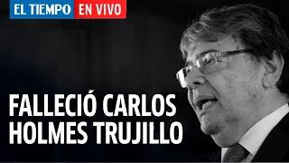 Arriba Bogotá En Vivo: Falleció el ministro de defensa Carlos Holmes Trujillo por coronavirus