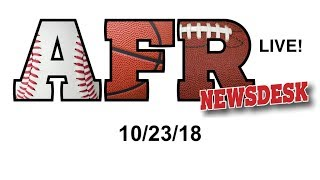 AFR Sports Board Game News for 10/23/18