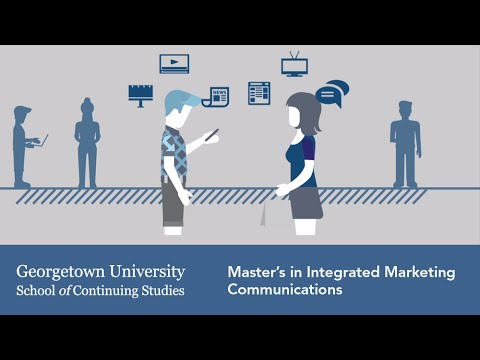 Master's In Integrated Marketing Communications At Georgetown University