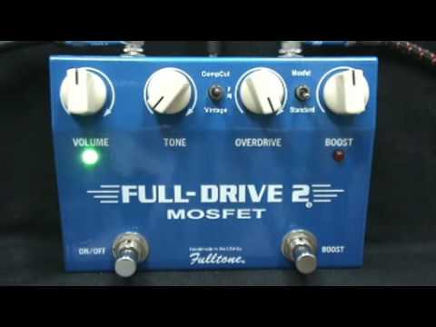 fulltone full drive 2 mosfet effect youtube. Black Bedroom Furniture Sets. Home Design Ideas
