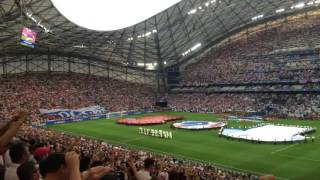 National Anthem England vs Russia - Euro 2016