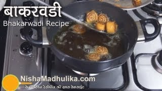 Bhakarwadi Recipe -  Bhakarwadi recipe video