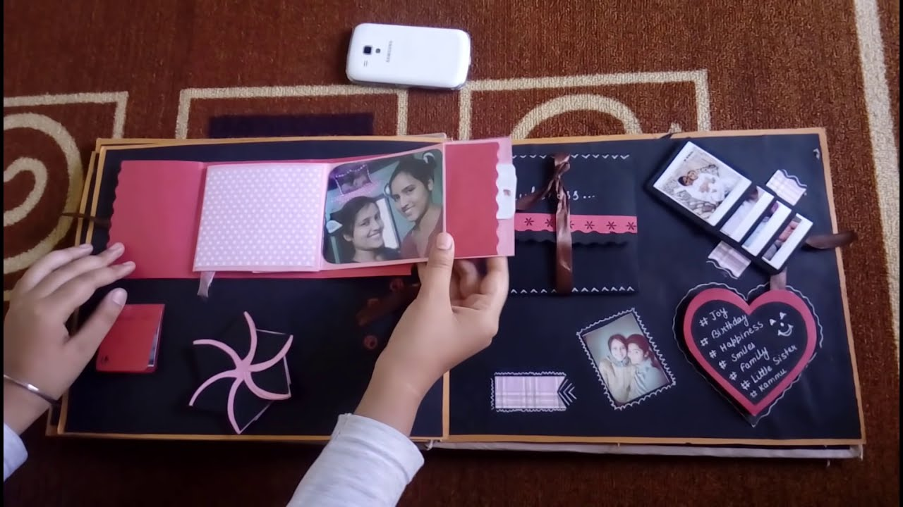Birthday Scrapbook Ideas Youtube