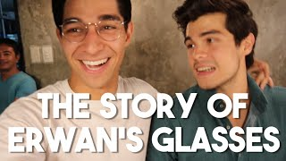 "The Story Behind Erwan Heussaff's Glasses (""The Panel"" BTS - ft. Janina Vela)"