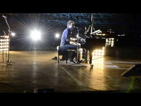 Cesare Cremonini - Vorrei - Concerto al Pianoforte - Taormina