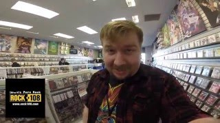 Rock 108 Hangs Out At Video Games Etc.