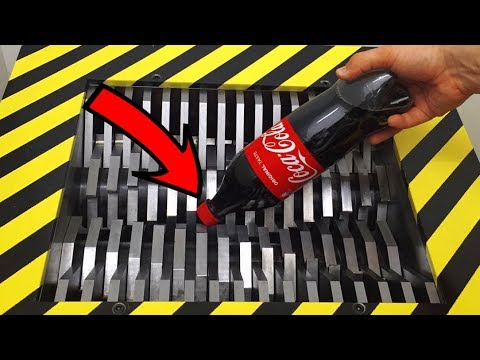 EXPERIMENT Shredding COCA COLA