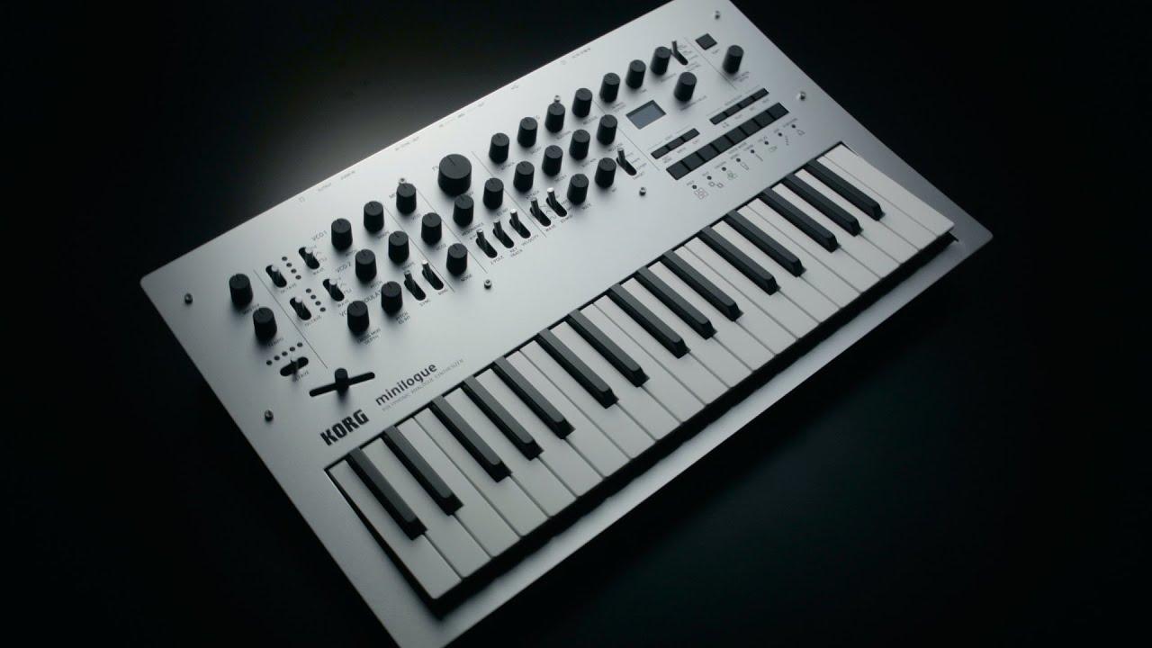 Minilogue 4 Voice Analog Synthesizer