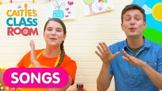 Here We Go Looby Loo | Kids Song with Caitie & Tim Kubart