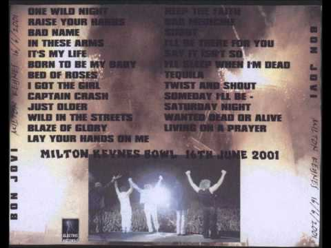 Bon Jovi - Live in Milton Keynes 2001 [FULL]