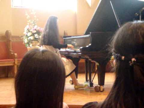 Recital at University of Toronto: Victoria College