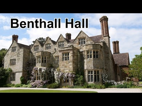 Benthall Hall Shropshire A National Trust Property near Iron Bridge