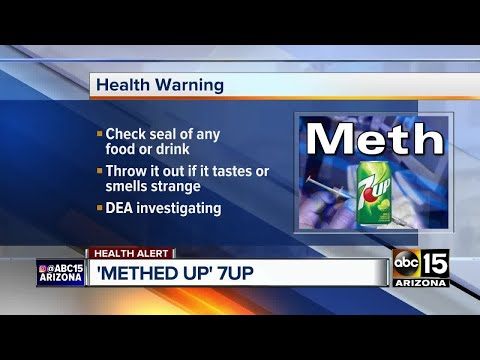 HEALTH ALERT: 7-Up contaminated with meth in Mexico
