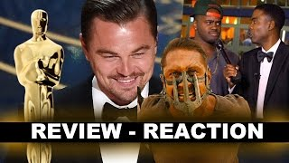 Oscars 2016 Review & Recap - Leonardo DiCaprio, Spotlight, Chris Rock - Beyond The Trailer