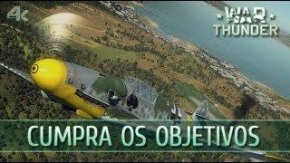 War Thunder: #7 Cumpra os Objetivos (F4U Corsair & Hellcat GAMEPLAY)