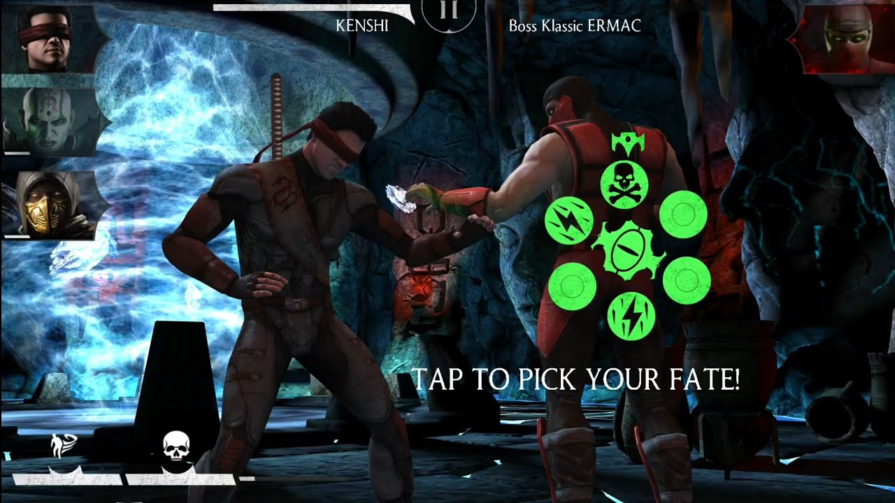 Mortal Kombat X Mobile - Road to Quan Chi / Ermac Challenge + GAMEPLAY