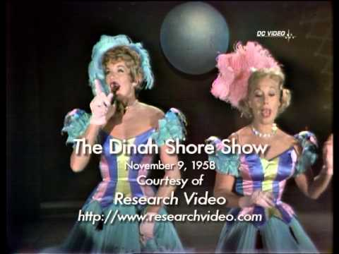 Dinah Shore Color  Nov. 9, 1958