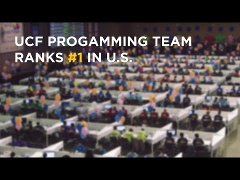 UCF Programming Team in World Finals Again, Ranks #1 in U.S. 2017