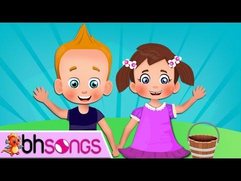 Jack and Jill song   Nursery Rhymes   Top Kids Songs [Ultra 4K Music Video]