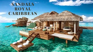 Sandals Royal Caribbean Over Water Bungalows Comparing to Maldives