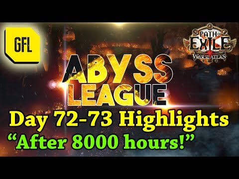 "Path of Exile 3.1: War for the Atlas DAY #72-73 Highlights ""After 8000 hours."""
