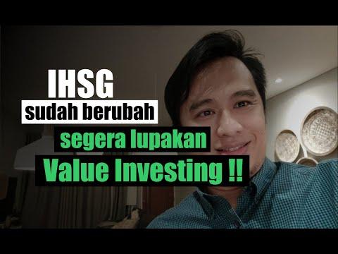 IHSG Sudah Berubah, SEGERA LUPAKAN Value Investing !!
