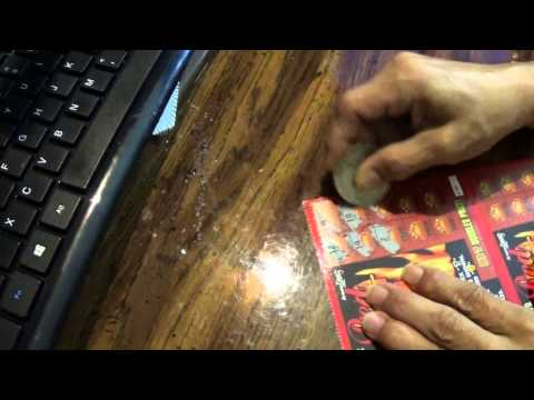 sizzling sevens scratch ticket