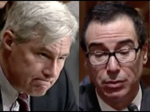 """""""WHAT ABOUT INCOME INEQUALITY?!"""" Sheldon Whitehouse CONFRONTS Trump Lackey Steven Mnuchin"""