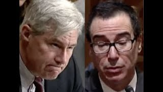 """WHAT ABOUT INCOME INEQUALITY?!"" Sheldon Whitehouse CONFRONTS Trump Lackey Steven Mnuchin"