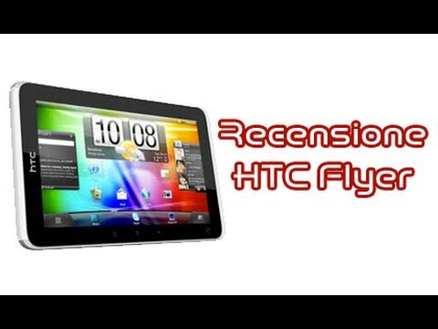 HTC Flyer, recensione in italiano by AndroidWorld.it