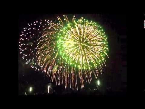 yodogawa fireworks Osaka city,Kansai region,Japan 2012