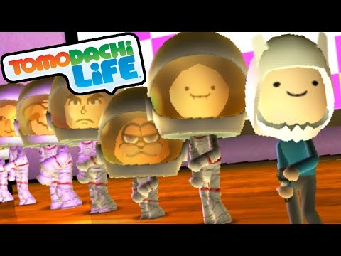 Tomodachi Life: Finn's Song. New Adventure Time Miis Gameplay
