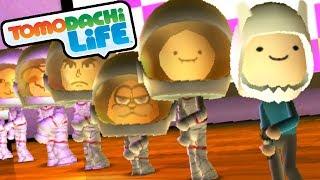 Tomodachi Life 3DS Finn's Song, New Adventure Time Miis Gameplay Walkthrough PART 14 Nintendo