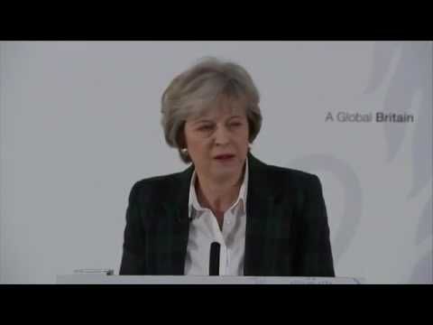 Theresa May's Brexit - Full Speech 17/01/2017