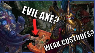 Top 5 Most RIDICULOUS Plot Holes in Warhammer 40k