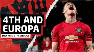 4th And Europa!?   Manchester United 5-0 Club Brugge   United Review