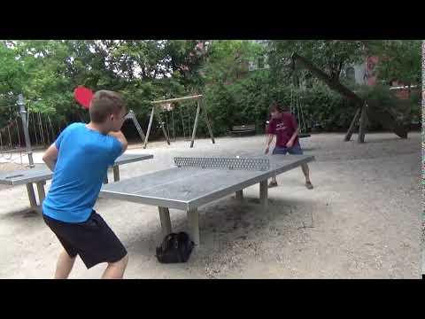 Tischtennis An Der Frauenschule Fuerth  Mit Den Steinb     An Der Steinplatte 20190619  40