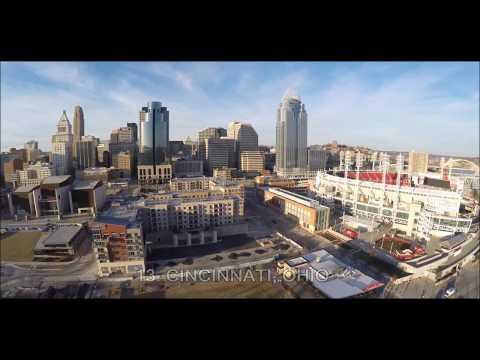 Top 15 Biggest U.S. Midwest Cities (Aerial Views)
