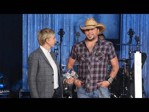 Jason Aldean Performed 'Burnin' It Down'
